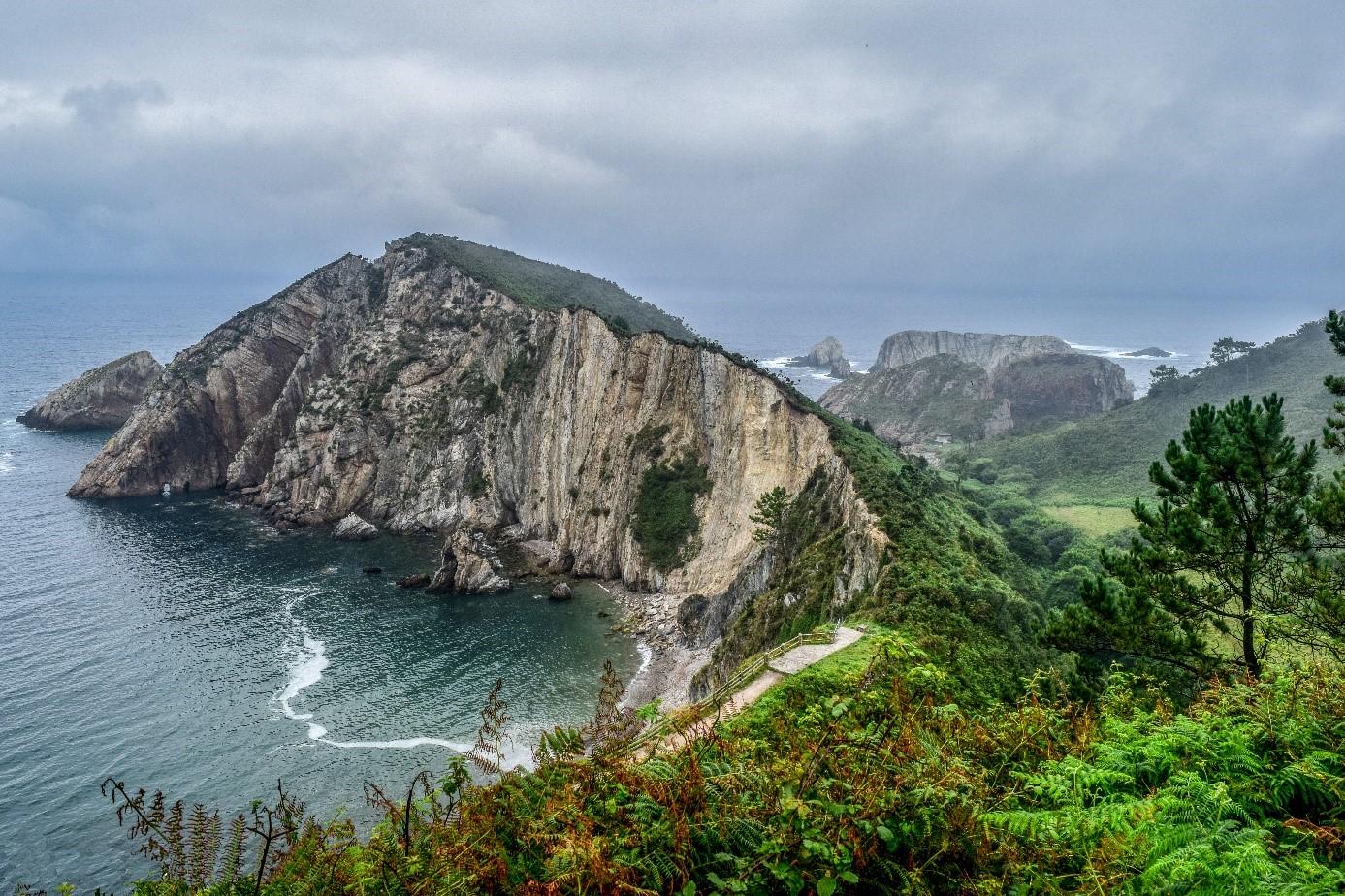 Plage Asturie