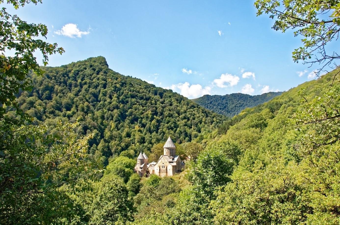 Arménie église et nature
