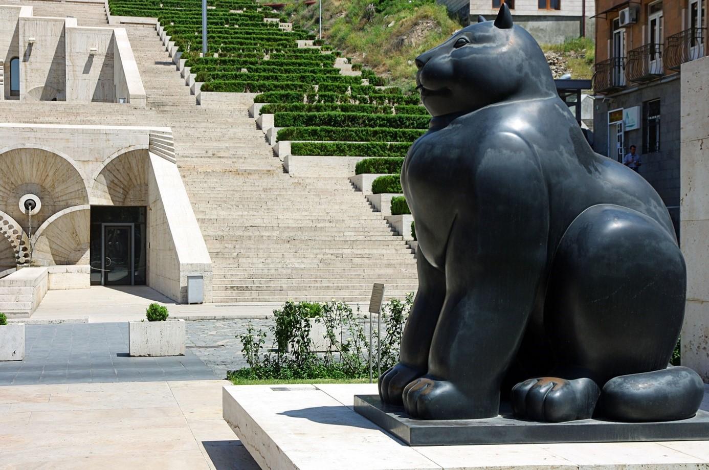 Arménie Erevan Sculpture