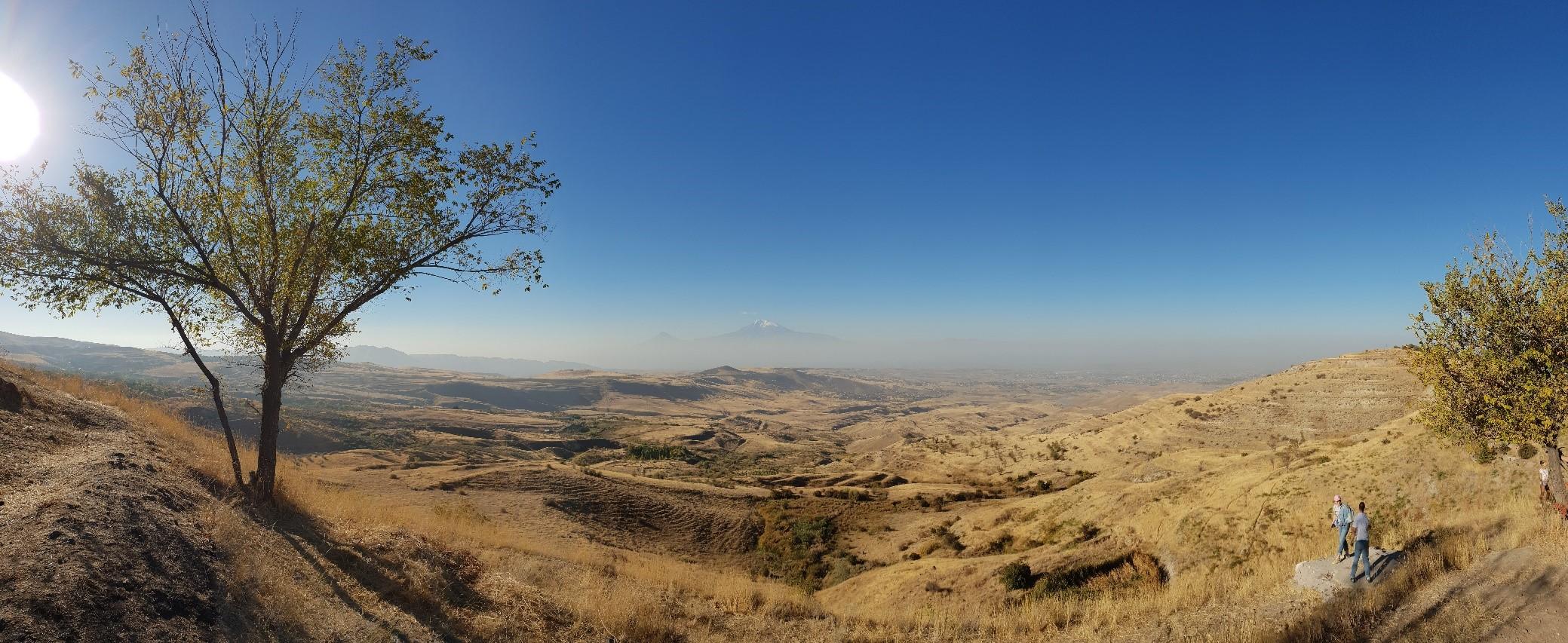 Paysage avec Mont Ararat