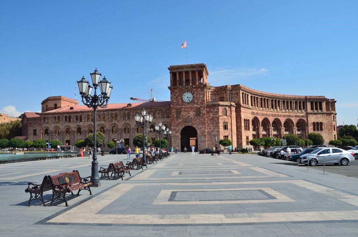 place de la république Erevan