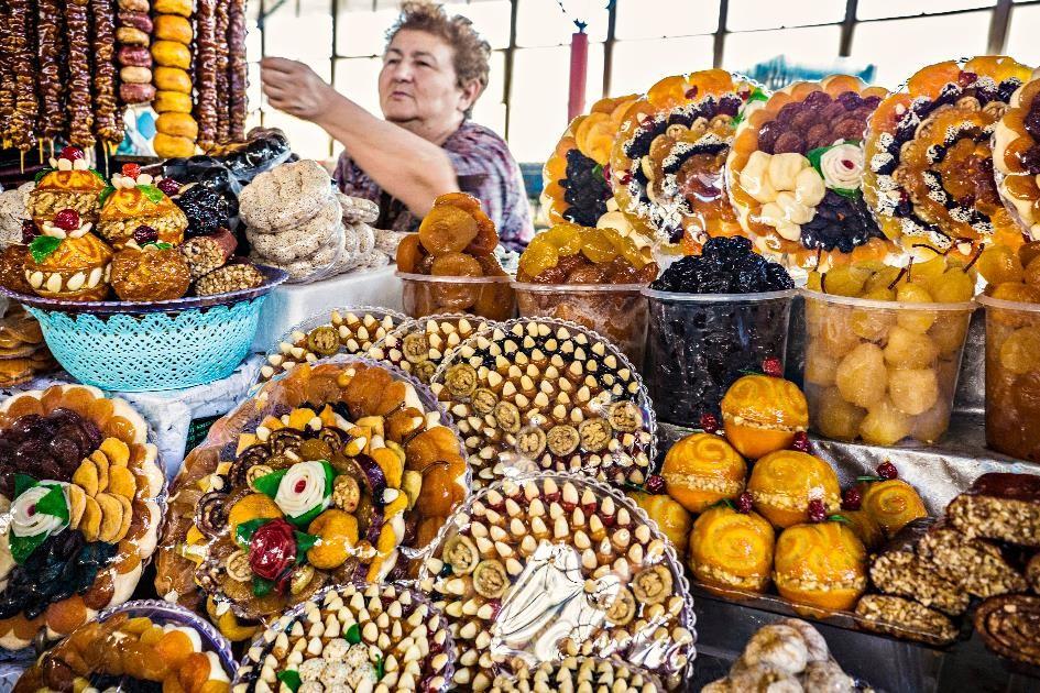 fruits confis d'Arménie