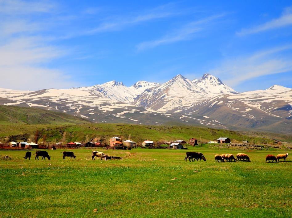 Le volcan Aragats